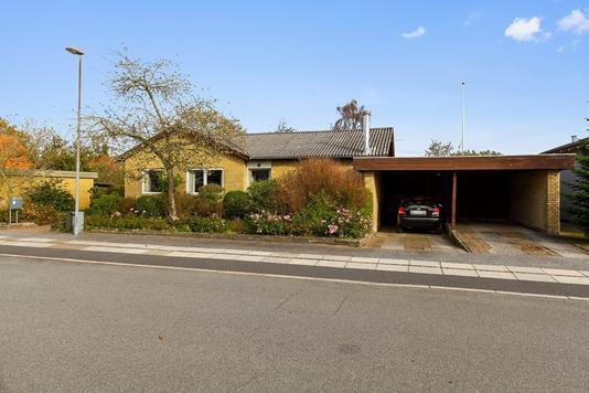 Villa på Solbakken i Holstebro - Set fra vejen