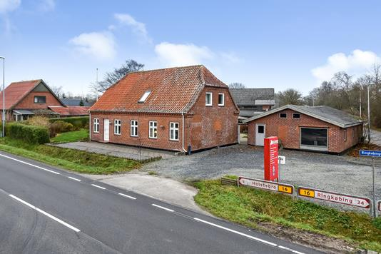 Villa på Ringkøbingvej i Holstebro - Ejendommen