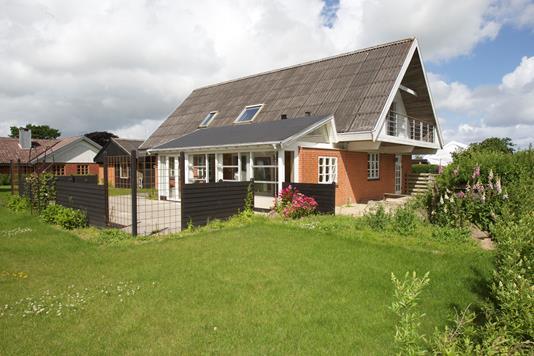 Villa på Søbakken i Holstebro - Set fra haven