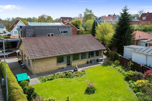 Villa på Norgesvej i Holstebro - Set fra haven