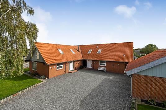 Villa på Vestre Hovedgade i Hjerm - Ejendommen