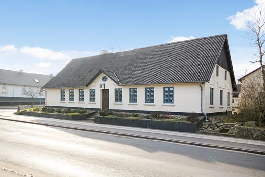 Villa på Søndergade i Holsted - Facade