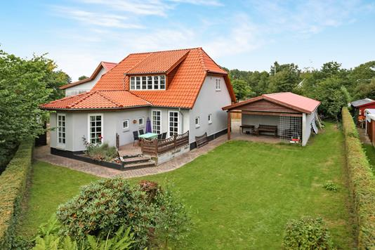 Villa på Vestergade i Holsted - Ejendommen
