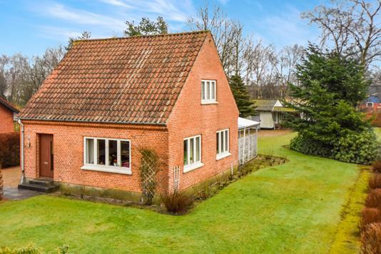 Villa på Krøgebækvej i Hovborg - Ejendommen