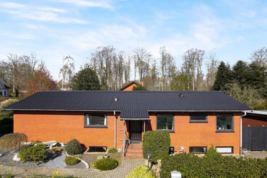 Villa på Skovvænget i Holsted - Ejendommen