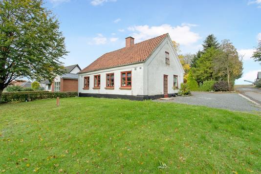 Villa på Vestergade i Holsted - Facade