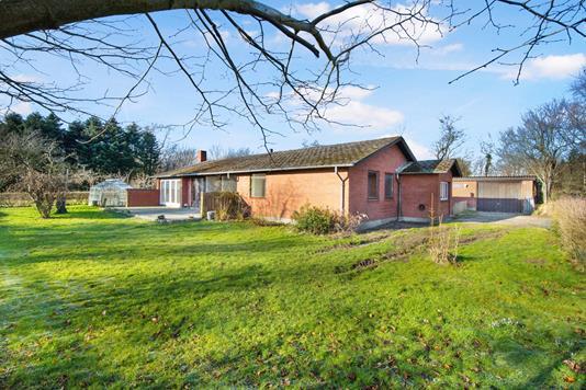 Villa på Skråvej i Holsted - Facade