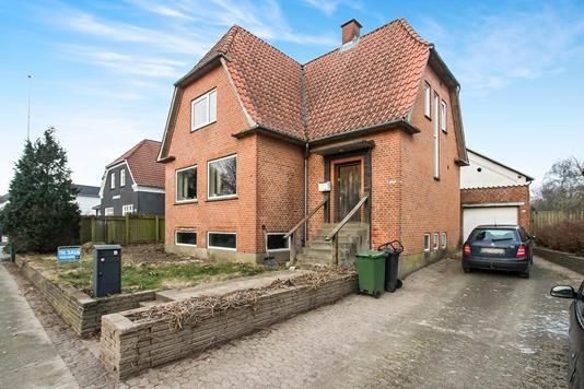 Villa på Vestergade i Holsted - Ejendom 1