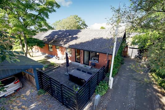 Villa på Hedevej i Karup J - Mastefoto