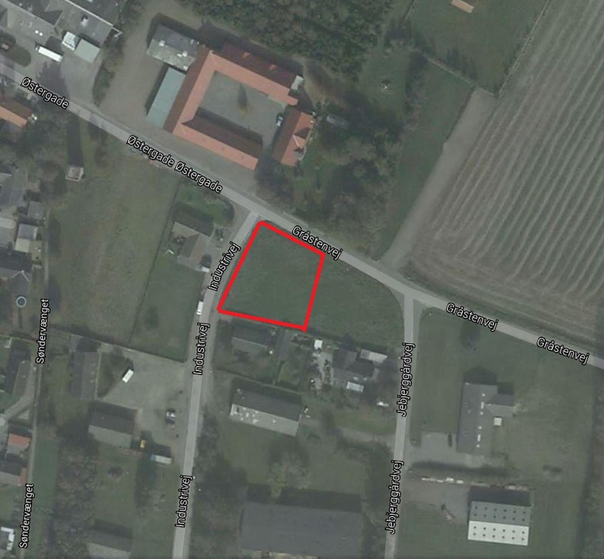 Helårsgrund på Industrivej i Roslev - Andet