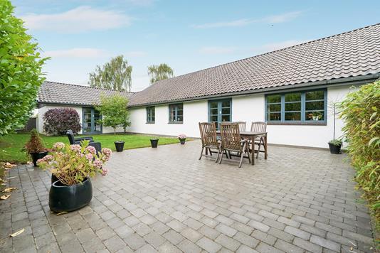 Villa på Smedevangen i Vejle Øst - Terrasse