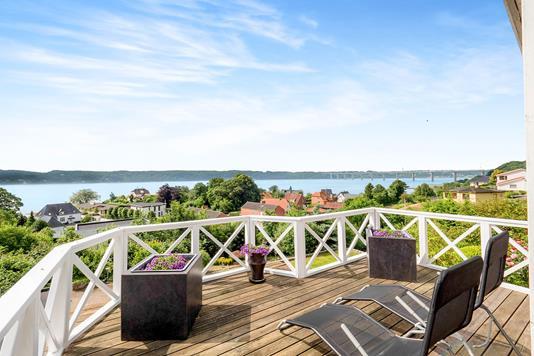 Villa på Solvænget i Vejle Øst - Terrasse