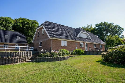 Villa på Præstebakken i Viborg - Set fra haven