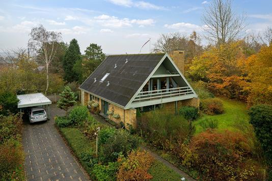 Villa på Johan Bittmanns Vej i Stoholm Jyll - Set fra vejen