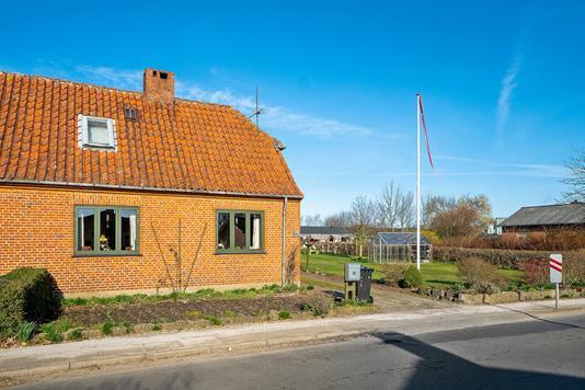 Villa på Langgade i Viborg - Set fra vejen