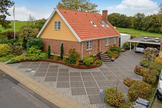 Villa på Agertoften i Stoholm Jyll - Ejendommen