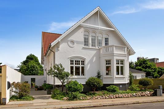 Villa på Lille Borgergade i Nørresundby - Facade