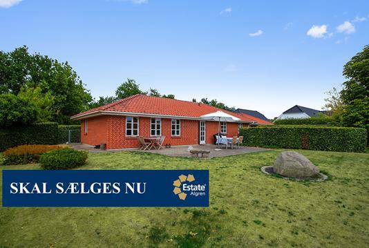 Villa på Kronen i Gistrup - Set fra haven