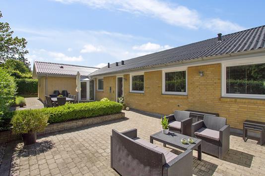 Villa på Kvisten i Gistrup - Terrasse
