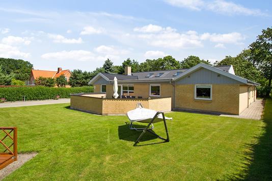 Villa på Kvisten i Gistrup - Set fra haven