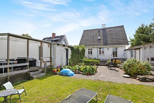 Villa på Gildsigvej i Nørresundby - Set fra haven