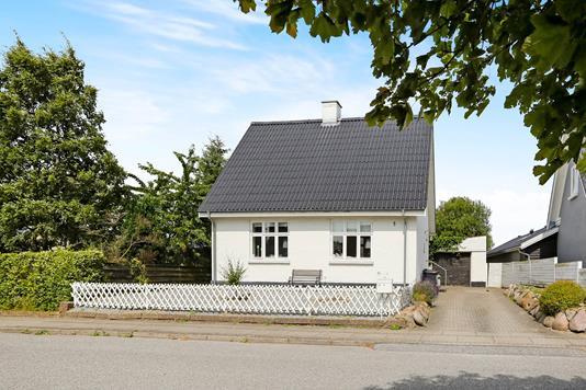 Villa på Gildsigvej i Nørresundby - Set fra vejen