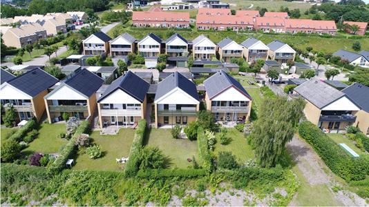Rækkehus på Kronosvej i Aalborg SØ - Have