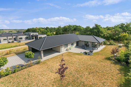 Villa på Griegsvej i Aalborg SV - Set fra haven