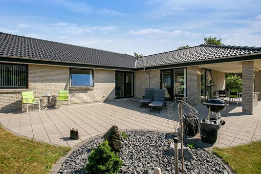 Villa på Griegsvej i Aalborg SV - Terrasse