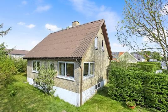 Villa på Thoruphedegårdsvej i Arden - Facade