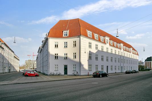 Andelsbolig på Sjællandsgade i Aalborg - Facade