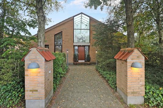 Villa på Multebærvej i Aabybro - Facade