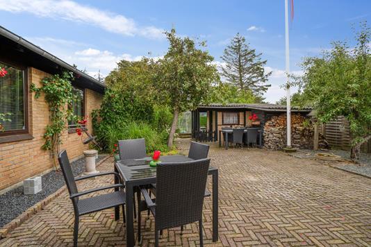 Villa på Sundbyvej i Aabybro - Terrasse
