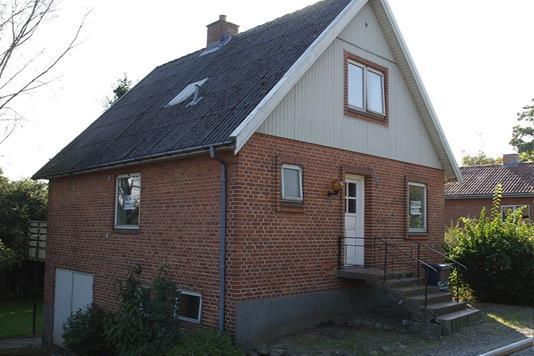 Villa på Frederikshavnsvej i Sindal - Facade
