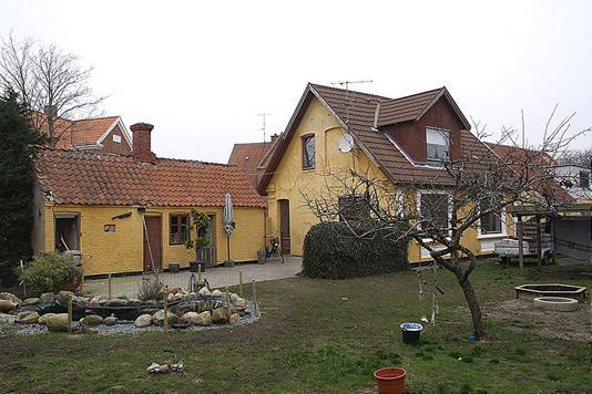 Villa på Glerupsvej i Frederikshavn - Have