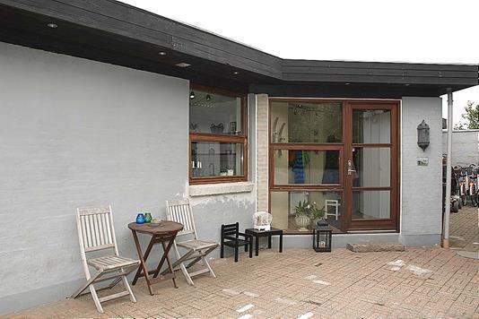 Villa på Skråningen i Tårs - Facade