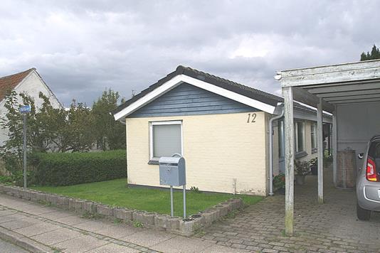 Villa på Nellikevej i Østervrå - Facade