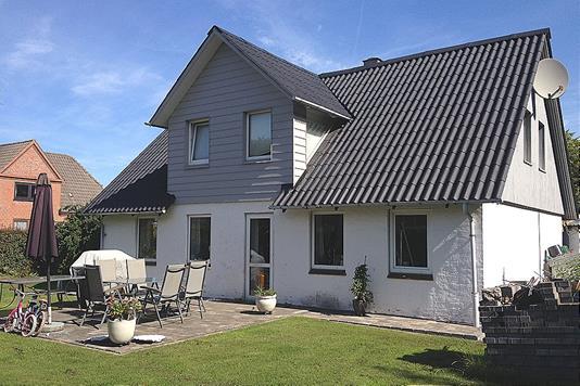Villa på Brøndenvej i Dybvad - Facade