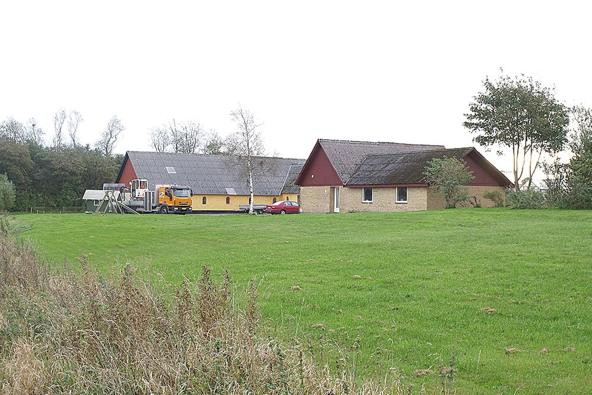 Landejendom på Hornbjergvej i Tårs - Ejendommen