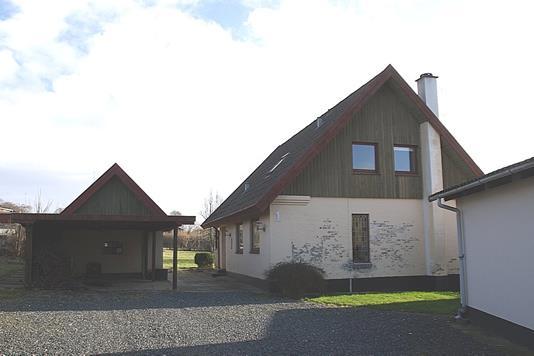 Villa på Møllegade i Sindal - Facade