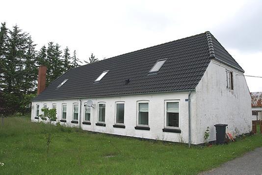 Landejendom på Frederikshavnsvej i Sindal - Facade