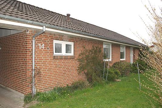Villa på Rønly i Tårs - Facade