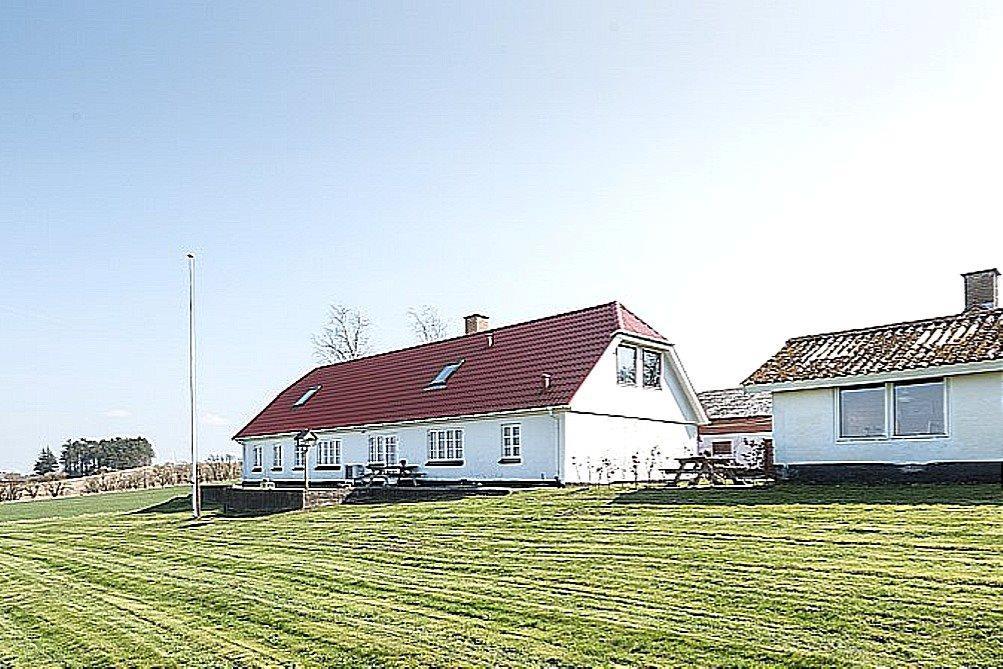 Landejendom på Sønder Graumvej i Tårs - Facade