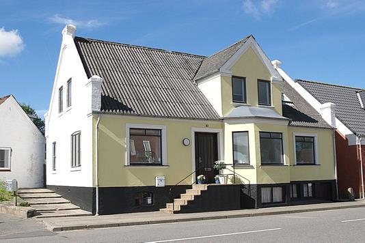 Villa på Søndergade i Sindal - Facade