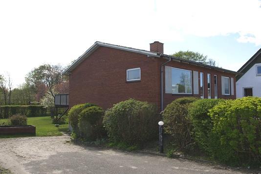Villa på Hjørringvej i Østervrå - Facade bolig