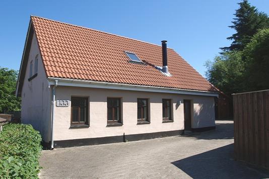 Villa på Bredgade i Tårs - Facade