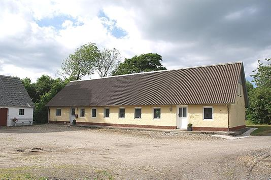 Landejendom på Sæby Landevej i Tårs - Facade bolig