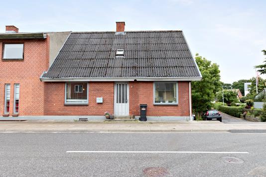 Rækkehus på Skærumvej i Sindal - Facade