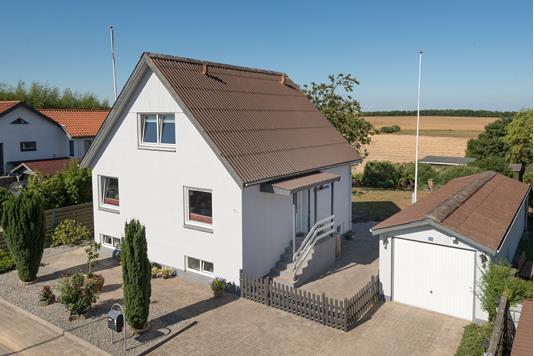 Villa på Vesterled i Tårs - Ejendommen