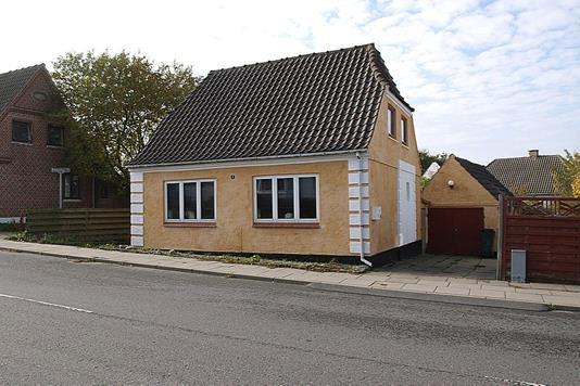 Villa på Trangetvej i Tårs - Facade bolig
